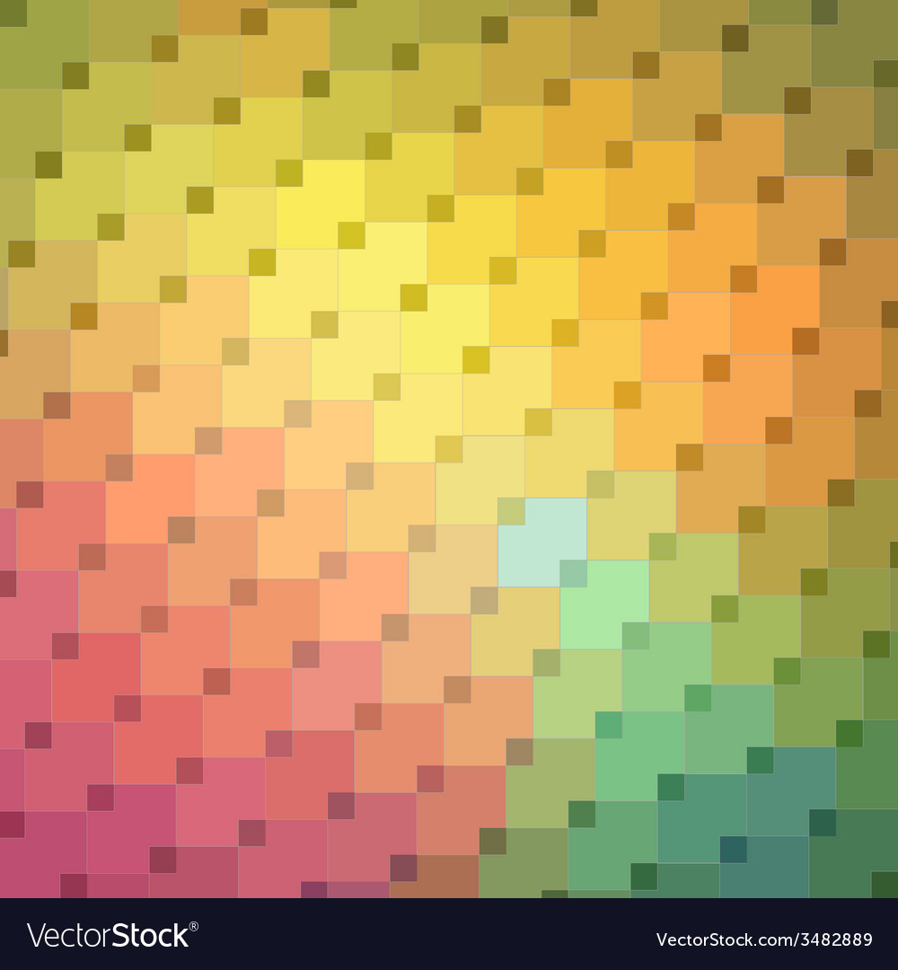 Colorful mosaic pattern vector | Price: 1 Credit (USD $1)