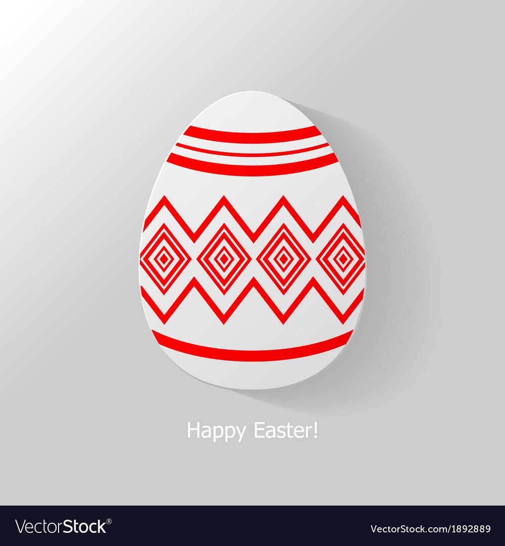 Egg ornament icon vector   Price: 1 Credit (USD $1)