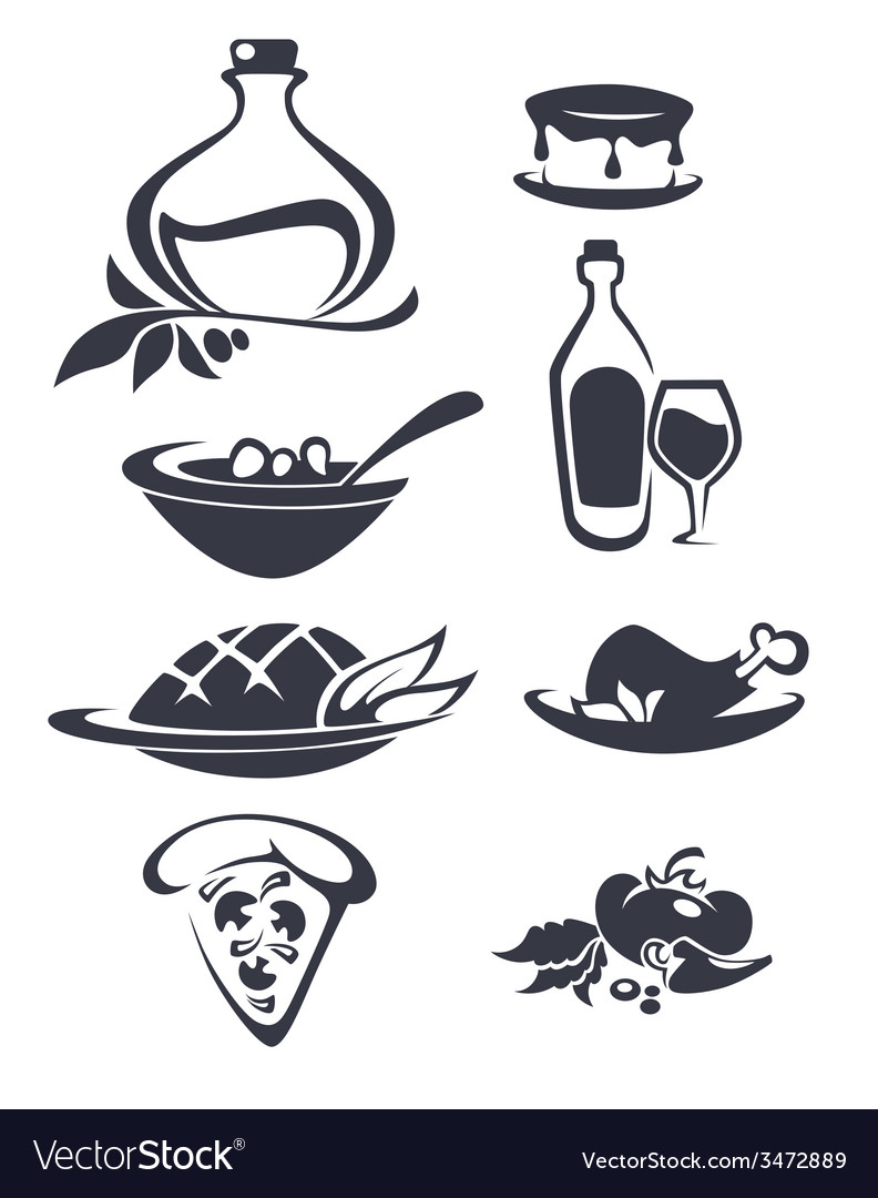 Italian menu vector | Price: 1 Credit (USD $1)
