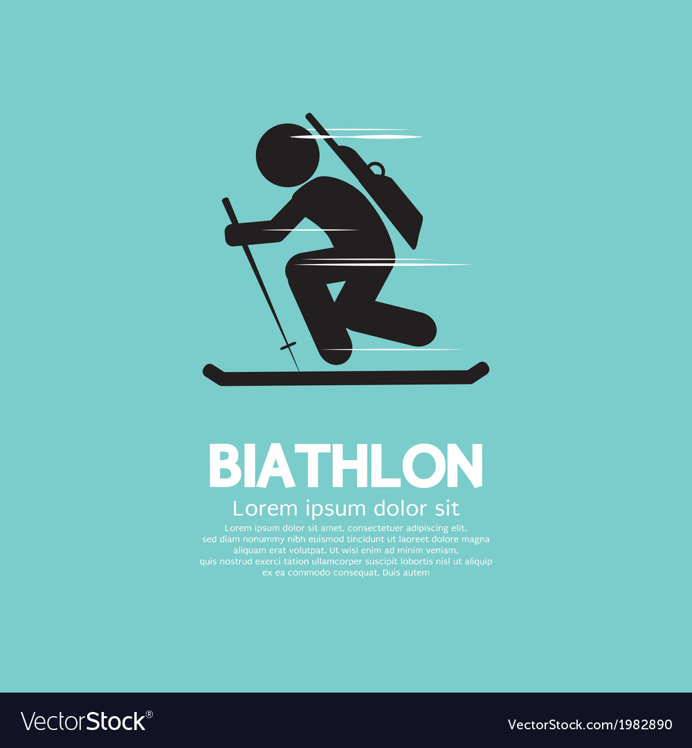 Biathlon vector | Price: 1 Credit (USD $1)