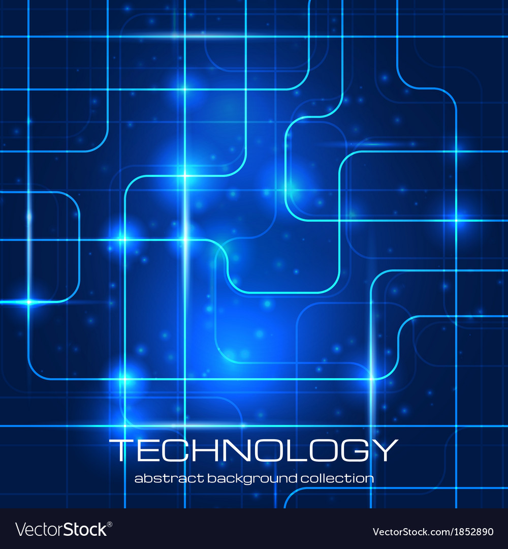 Bright technology background vector | Price: 1 Credit (USD $1)