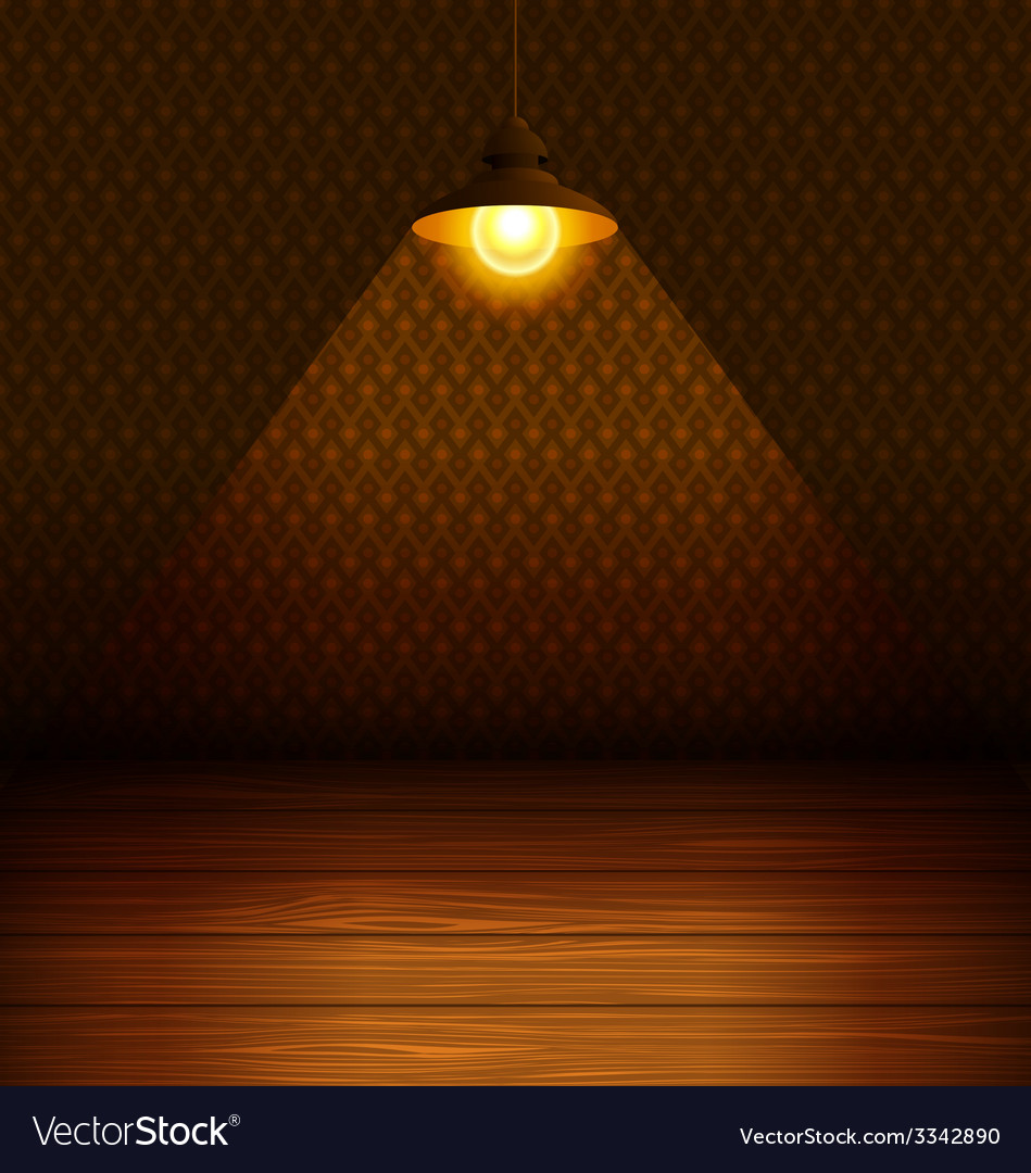 The lamp in the room vector | Price: 1 Credit (USD $1)