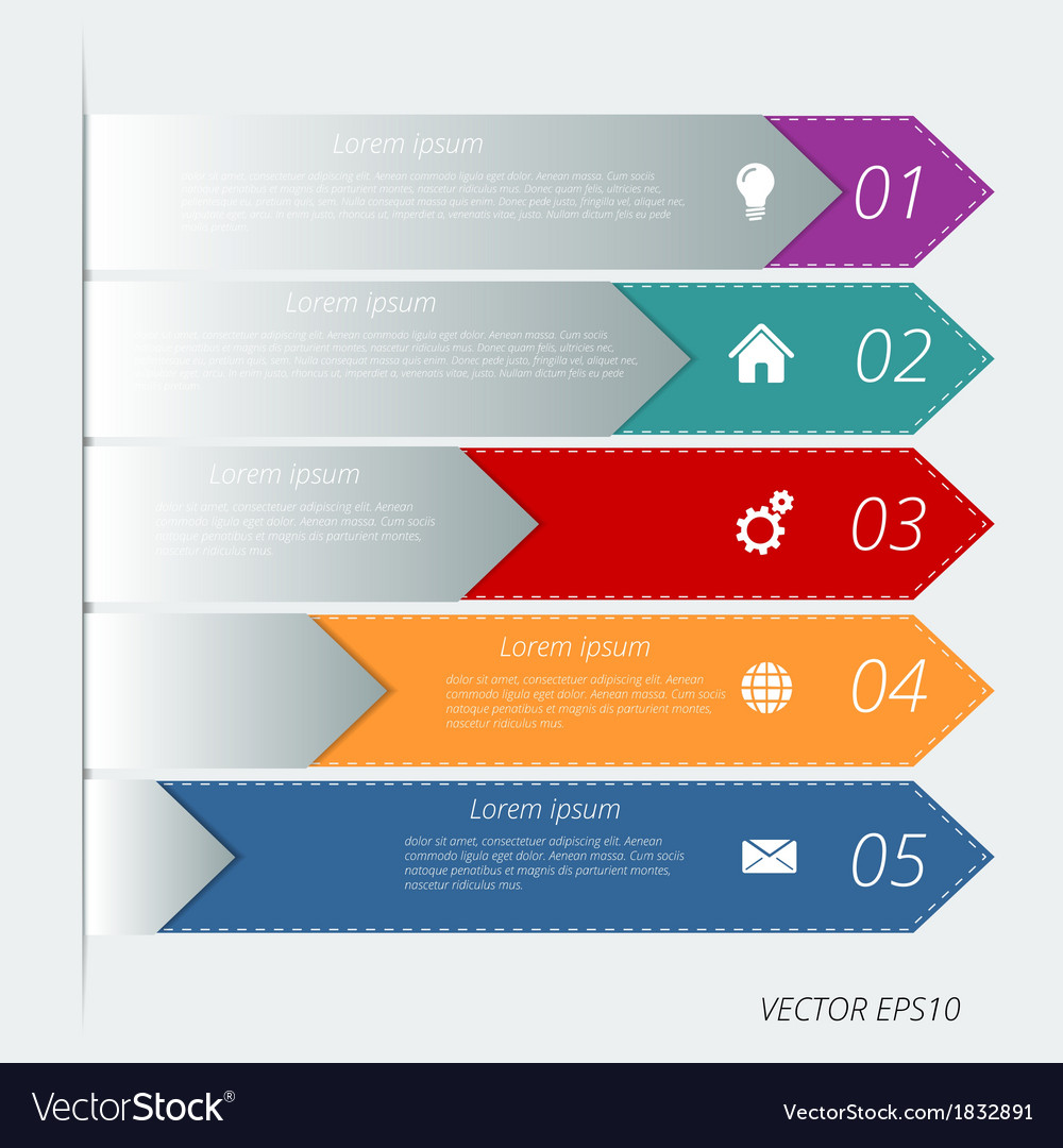 Infographic background design vector | Price: 1 Credit (USD $1)