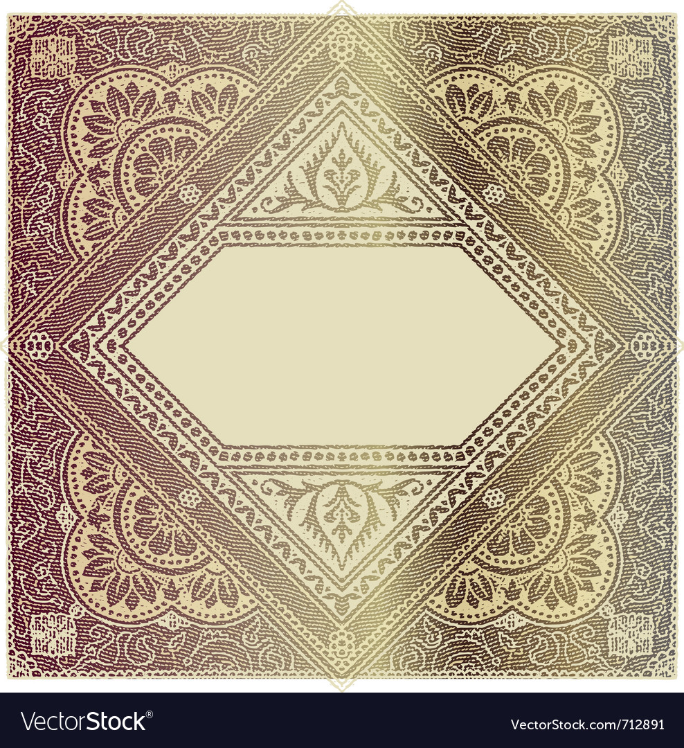 Old stamp vector | Price: 1 Credit (USD $1)