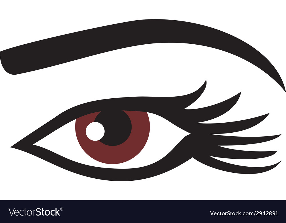 Woman eye vector | Price: 1 Credit (USD $1)