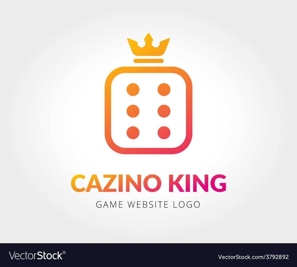 Abstract casino cube logo template for vector | Price: 1 Credit (USD $1)
