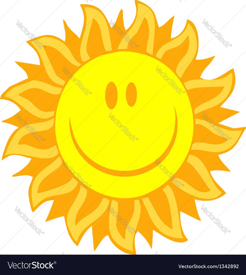 Smiling sun vector   Price: 1 Credit (USD $1)
