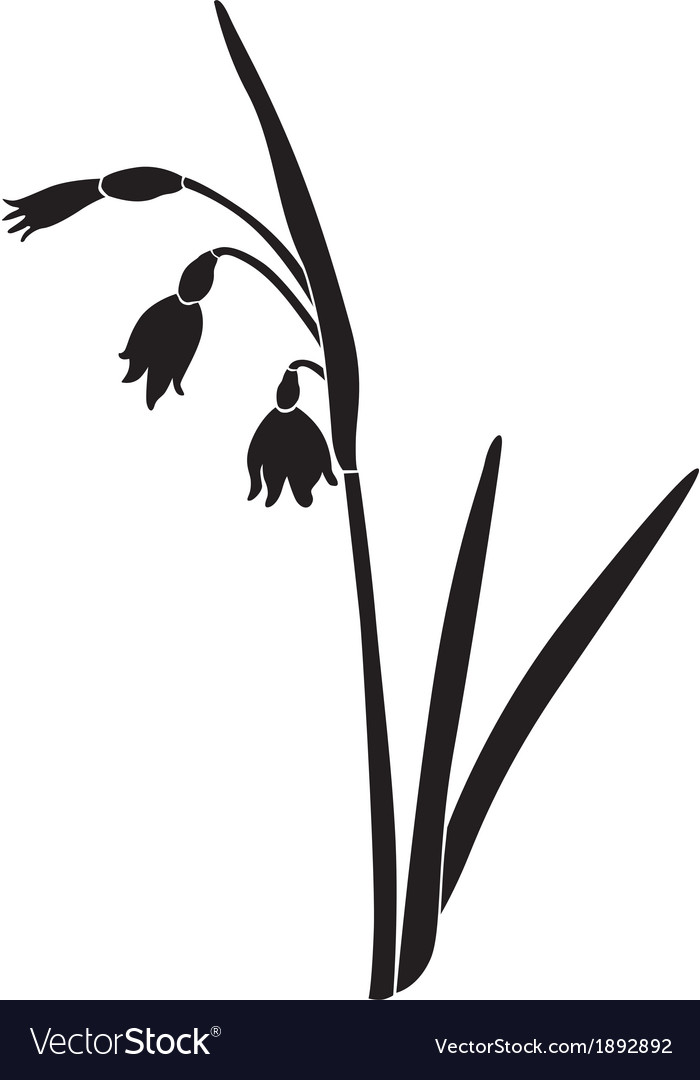 Spring flower vector | Price: 1 Credit (USD $1)