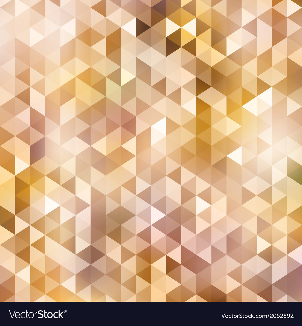 Triangle autumn color background vector | Price: 1 Credit (USD $1)