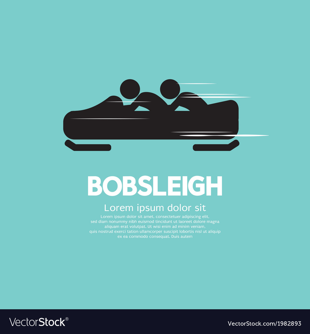 Bobsleigh vector | Price: 1 Credit (USD $1)