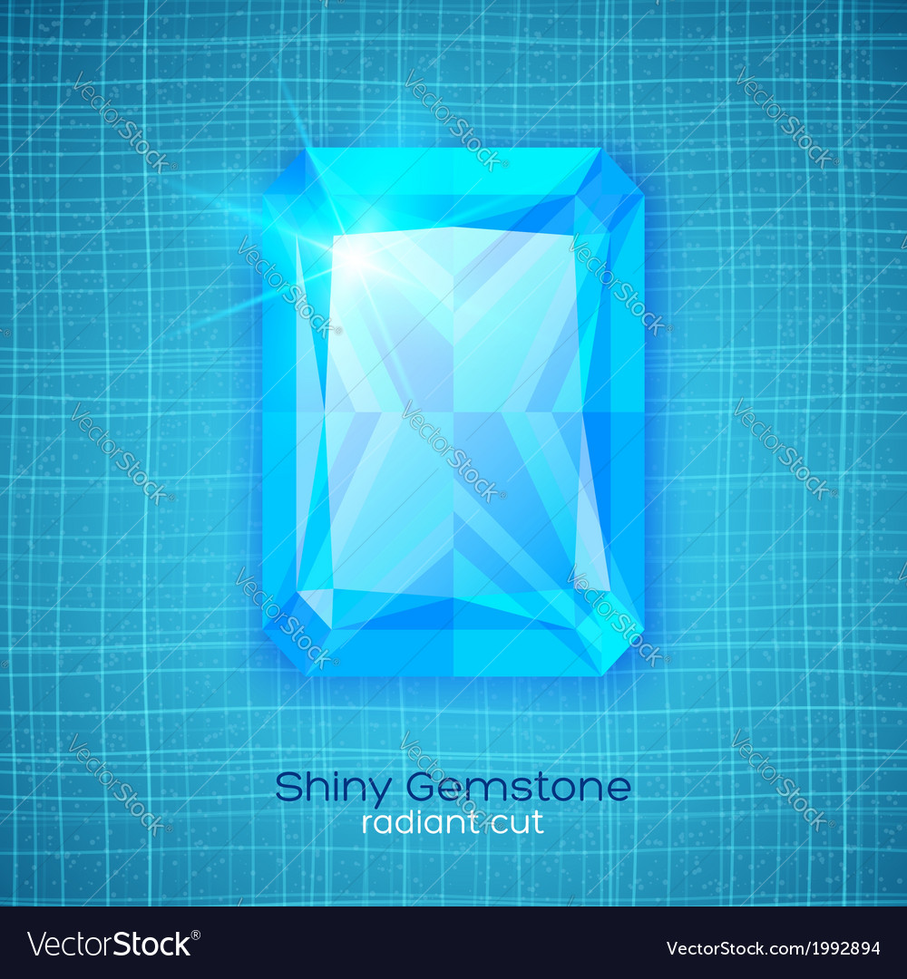 Gemstone on textured background vector | Price: 1 Credit (USD $1)