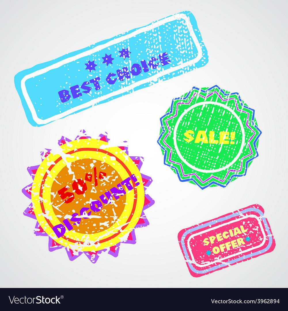 Labels vector | Price: 1 Credit (USD $1)