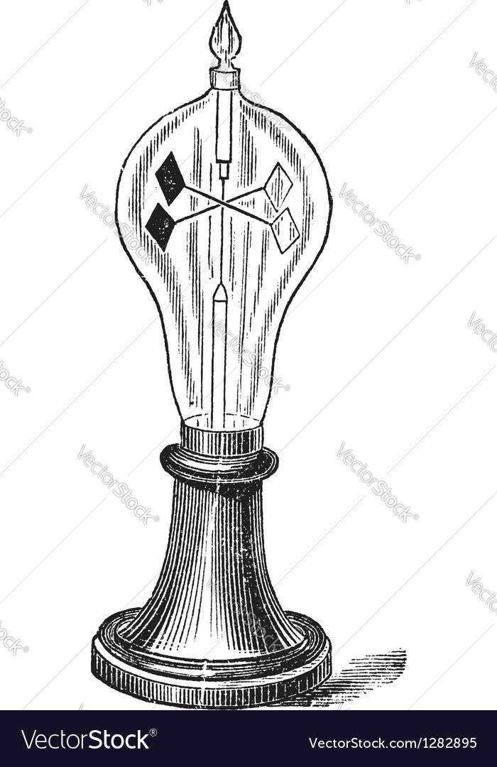 Radiometer vintage engraving vector | Price: 1 Credit (USD $1)