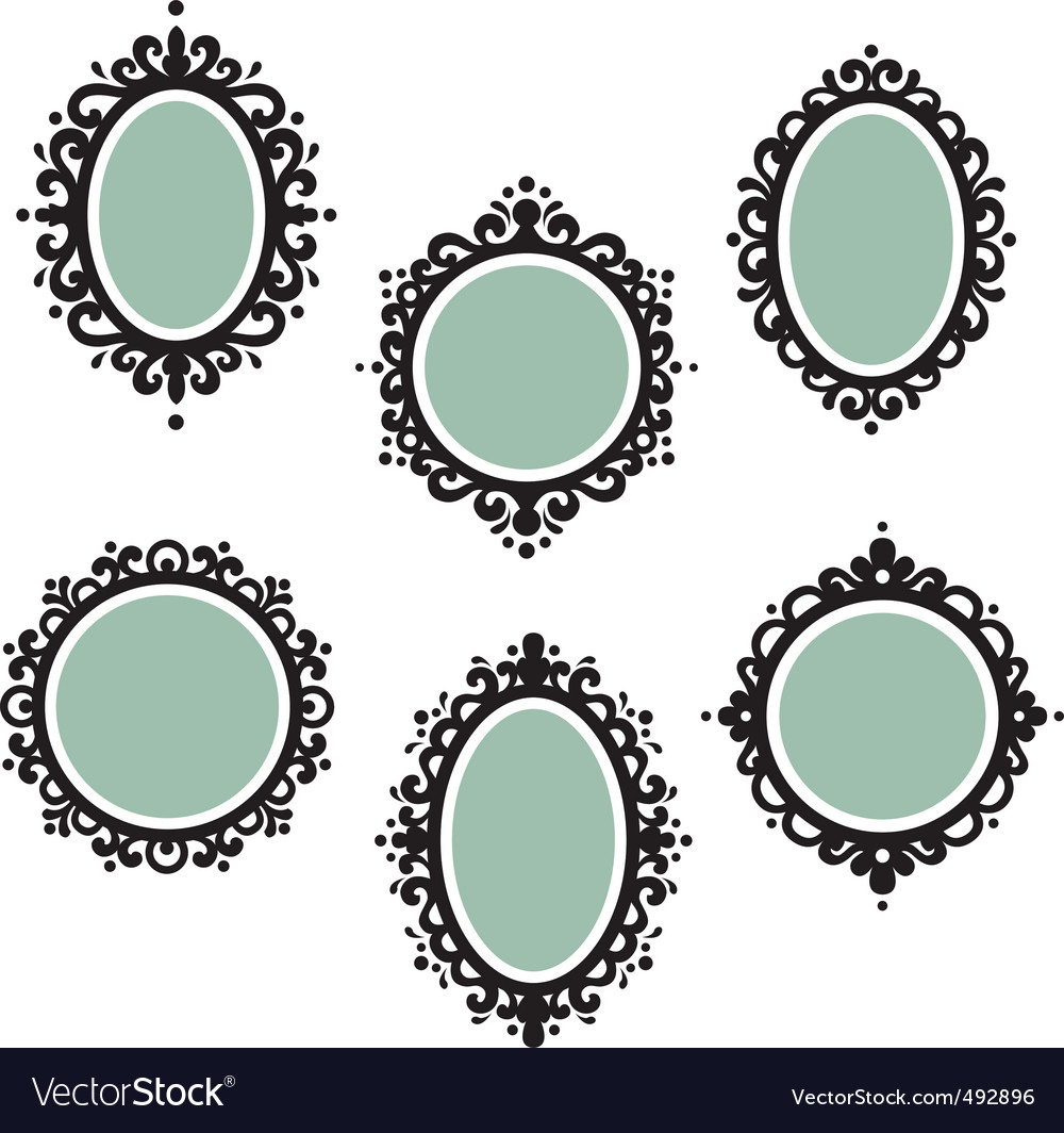 Antique frames vector | Price: 1 Credit (USD $1)