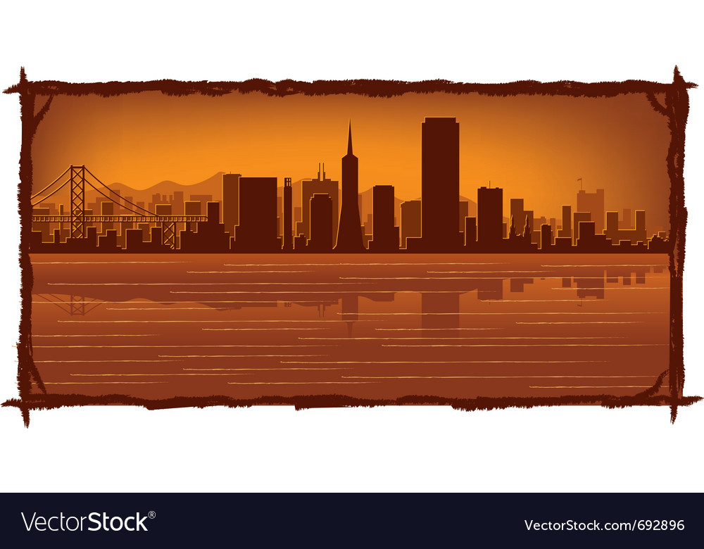 San francisco vector | Price: 1 Credit (USD $1)