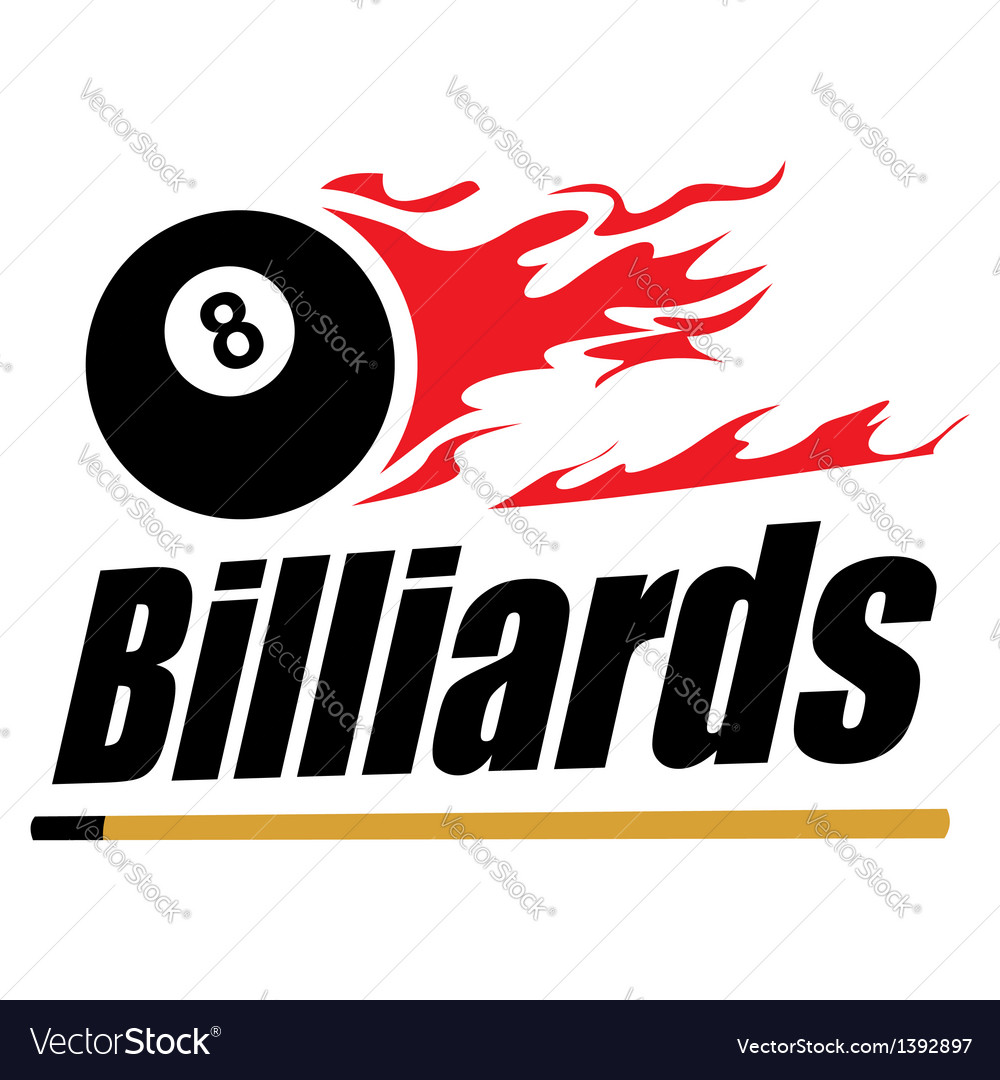 Billiards symbol vector | Price: 1 Credit (USD $1)