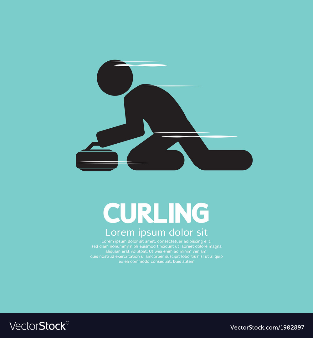 Curling vector | Price: 1 Credit (USD $1)