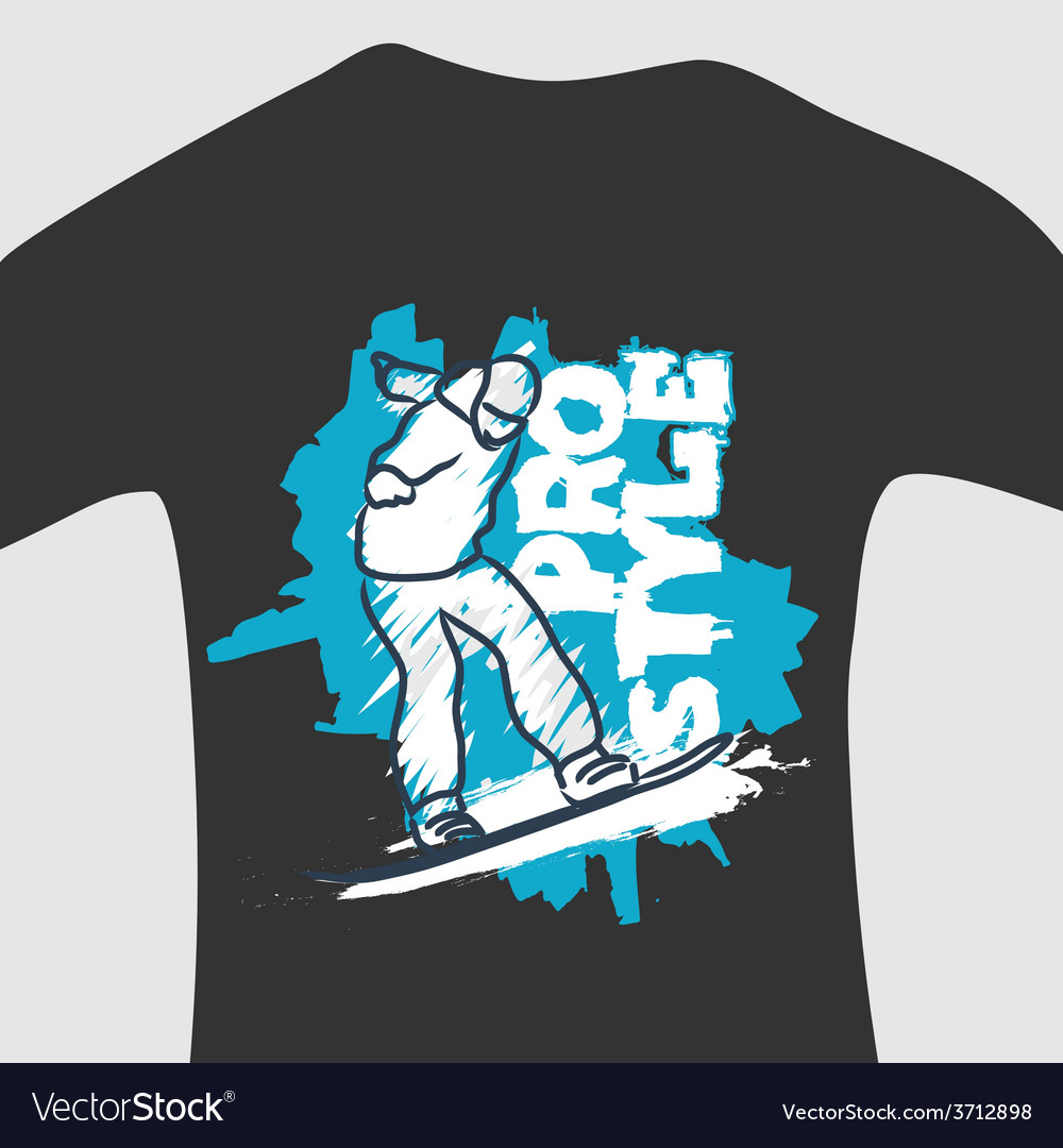 Print for sweatshirt vector | Price: 1 Credit (USD $1)