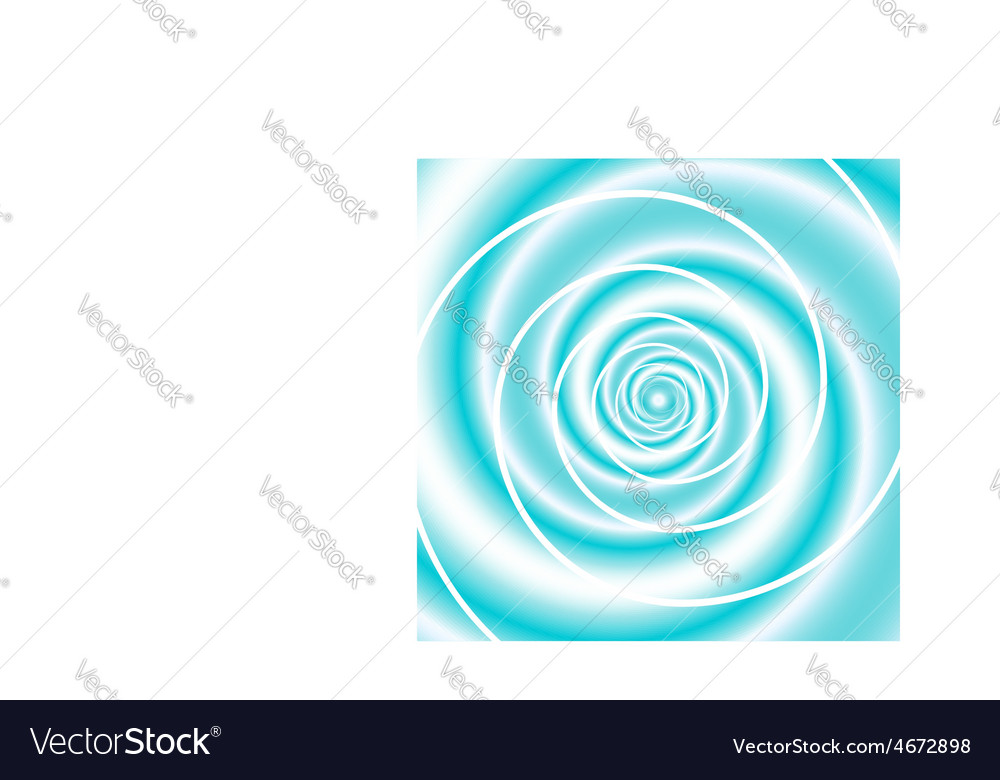 Sea wave twirl vector | Price: 1 Credit (USD $1)
