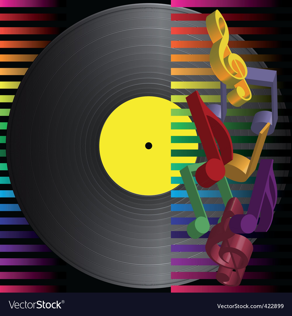 Music party background vector | Price: 3 Credit (USD $3)