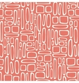 Seamless pattern with abstract doodle square vector