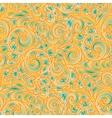 Art retro design flowers vintage pattern abstract vector