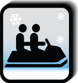 Winter icon -bob vector