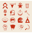 Soviet icons0 vector