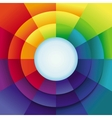 Abstract background in rainbow colours vector