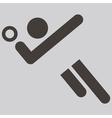 Volleiball icon vector