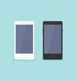 Smartphone flat design vector