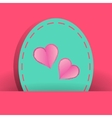 Many pretty white heart for valentines day vector