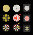 Different darts collection vector