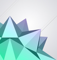 Abstract modern shape vector