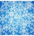 Christmas seamless blue pattern background with vector