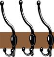 Hat stand hanger vector