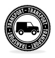 Transport design over white background vector