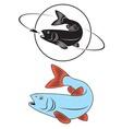 Fish chub vector
