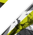 Abstract shattered background vector