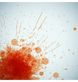 Abstract orange spots background with place for vector