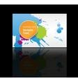 Business cards background design vector