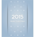 Christmas background snowflake 2015 vector