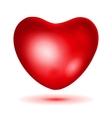Big red heart vector