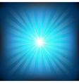 Blue burst vector