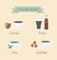 Caffeinedrink vector