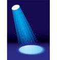 Single spotlight vector