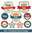 Vote 2012 lables vector