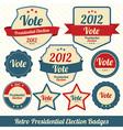 Vote 2012 lables vector