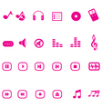 Universal icons for web and mobile vector