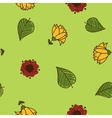 Seamless flowers pattern sketch design elements vector